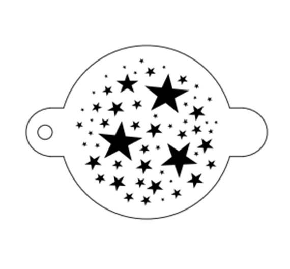 TAP 061 Face Painting Stencil – Magical Stars $2.50