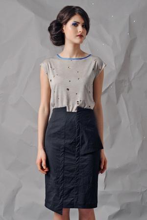 Shirt Vera  Skirt Nedazda   by NOME PROPRIO