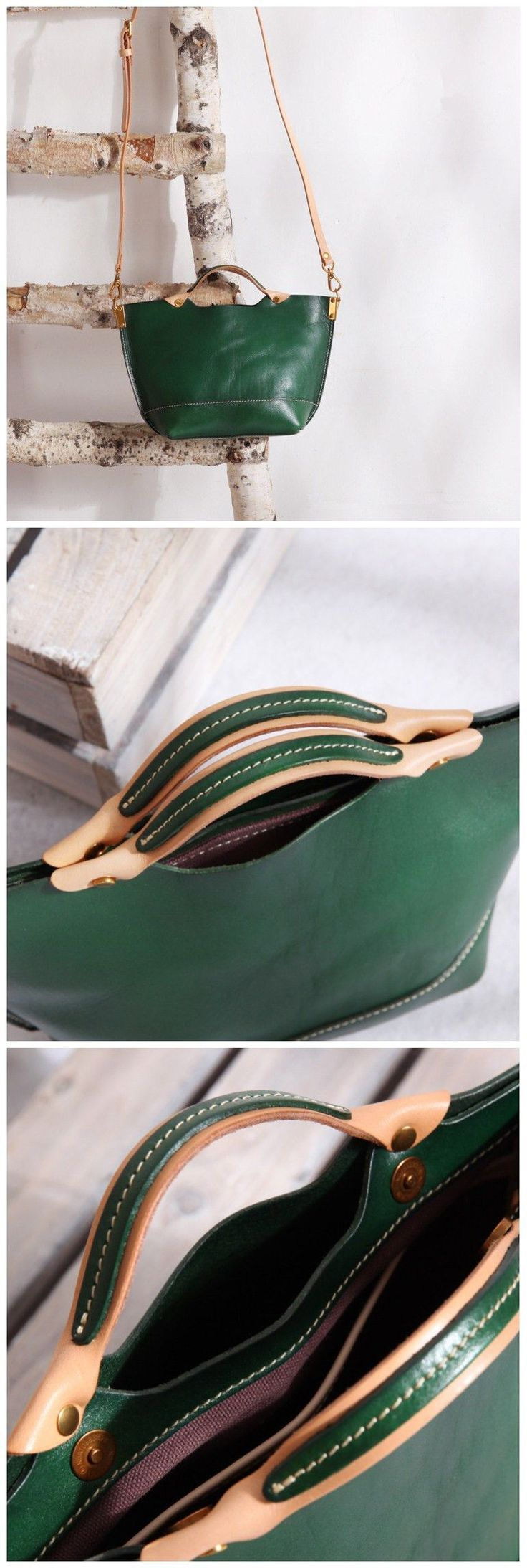 Ladies Handbags Full Grain Leather Handmade Cross body Bag Designer Handbags
