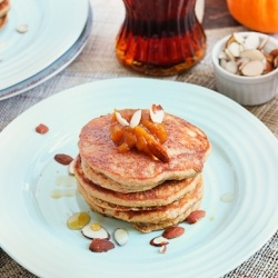... | Buttermilk pancakes, Pumpkin spice pancakes and Pancake ideas