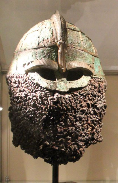 Helmet with ringväv.