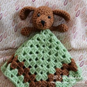crochet lovey, free pattern...lovey round up