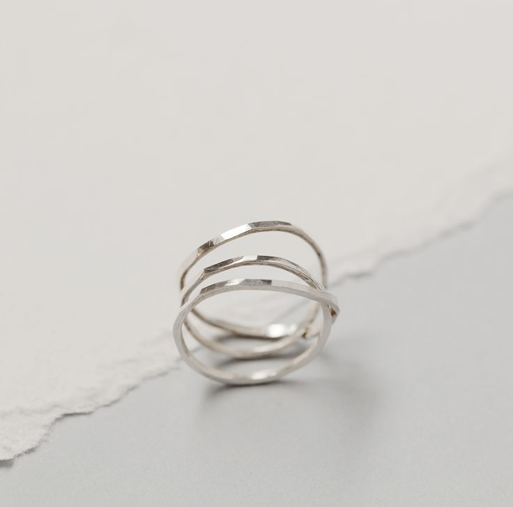 AYA knuckle ring by SOTINE.  Material:92.5% silver  Designed in:The Netherlands  Crafted in:The Netherlands