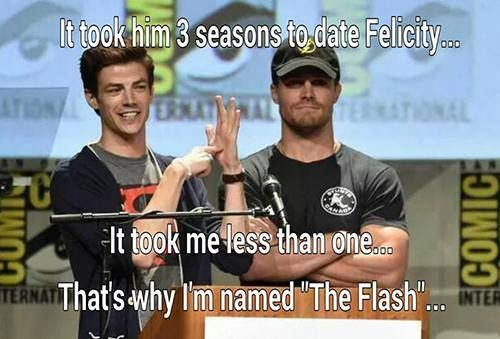 Barry Allen (The Flash) VS Oliver Queen (The Arrow) |  Baricity or Olicity? | Humor