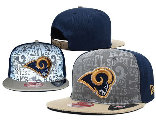 NFL Los Angeles Rams Stitched Snapback Hats 002