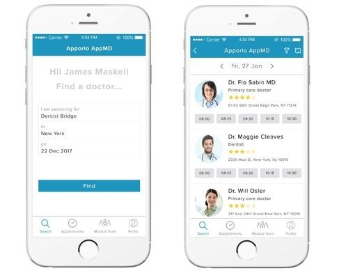 Apporio App MD- Doctor Appointment Booking App