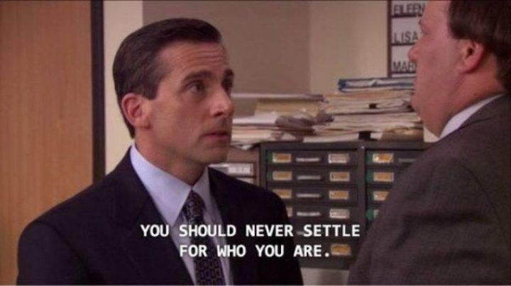 Here 20 Quotes From Michaelscott And Donald J Trump Good Luck Guessing Who Said What Michael Scott Quotes Inspirational Office Quotes Office Quotes Funny