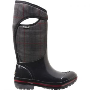 BOGS PLIMSOLL PRINCE OF WALES TALL WINTER BOOTS WOMENS  Women's Tall Waterproof Winter boot rated to -40C #womenwinterboots