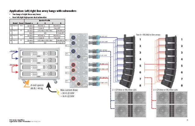Image Result For Line Array Wiring Diagram