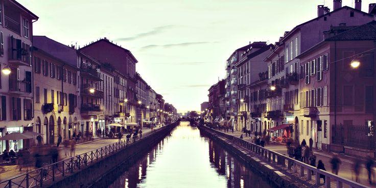 Navigli, Milan, Italy
