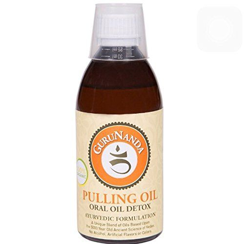 Oil Pulling by GuruNanda - Authentic Ayurvedic Formulation -Organic and Natural - 8oz GuruNanda http://www.amazon.com/dp/B00ODJDKWY/ref=cm_sw_r_pi_dp_bqaVub0GMX464