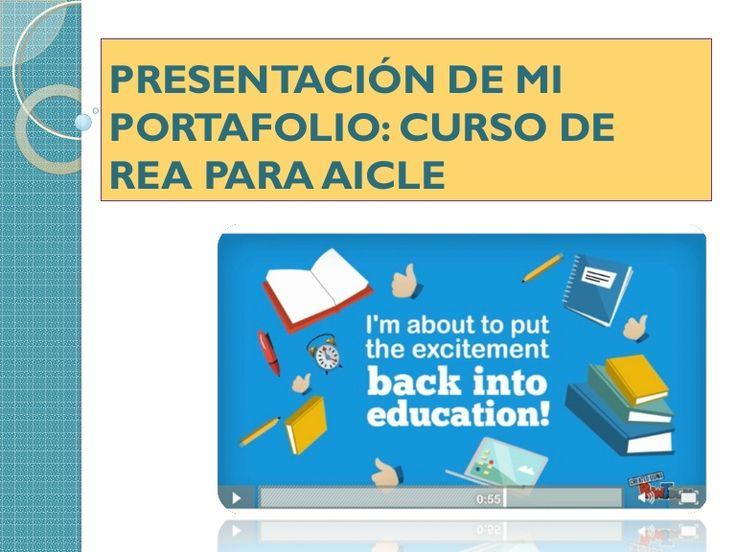 Portafolio del curso REA para AICLE de INTEF por Marta Ramo