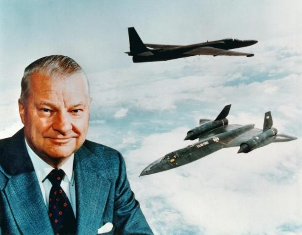 Mr Skunkworks. The engineer's engineer, Kelly Johnson. U2 and SR 71 being just the vehicles to become reality from his work.