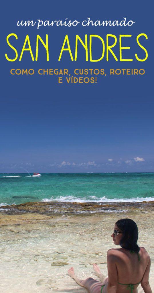 Guia definitivo de San Andrés! Veja todos os gastos, como funciona a taxa da ilha, o que visitar e mais!