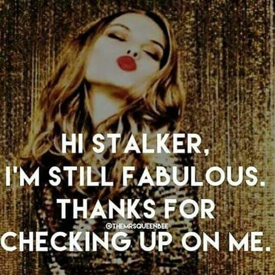I know you've been stalking me cause you finally unblocked me. To be honest, I was waiting for that moment every day to catch you, so I could block you myself and protect mine and my husband's family from your obsessions with my husband. He'll just add that to the list for court. Psychopath.