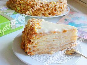 Торт пломбир в разрезе