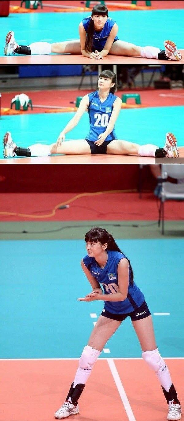 Những điều chưa biết về Hot girl bóng chuyền đang gây bão Sabina Altynbekova - Kenh14.vn