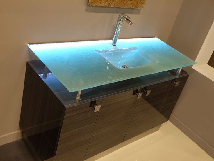 27 best Integrated Glass Sinks images on Pinterest  Glass