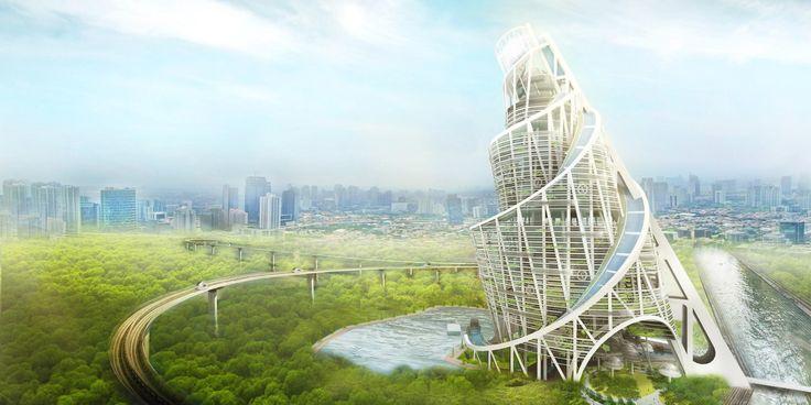 Башня Татлина – Вавилонская башня коммунизма / Блог компании Mail.Ru Group / Geektimes