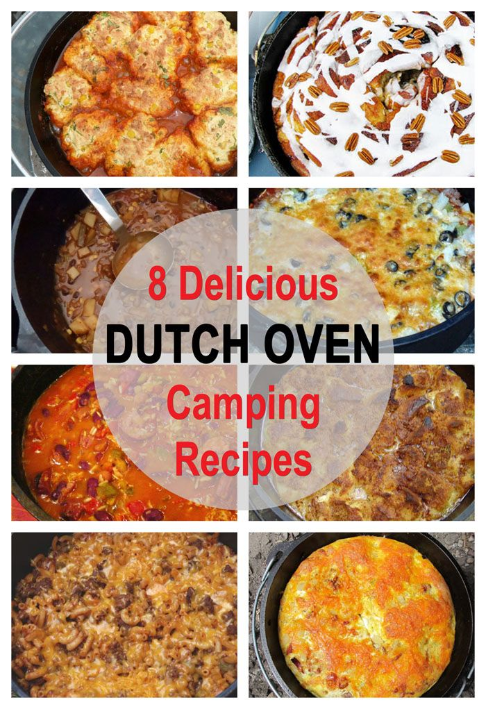 8 Delicious Dutch Oven Campfire Recipes