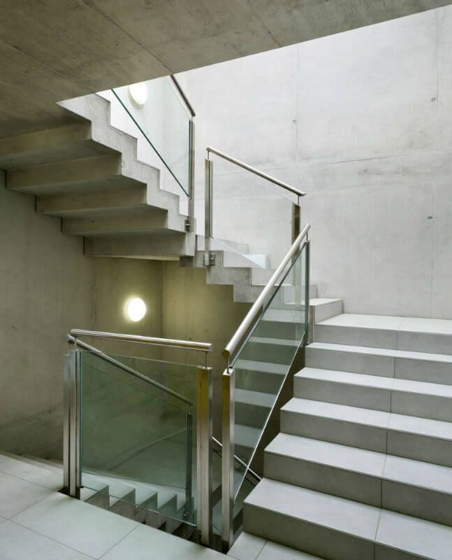 Metal Handrails For Stairs Interior To Go Over A Glass Banister   Google 搜尋