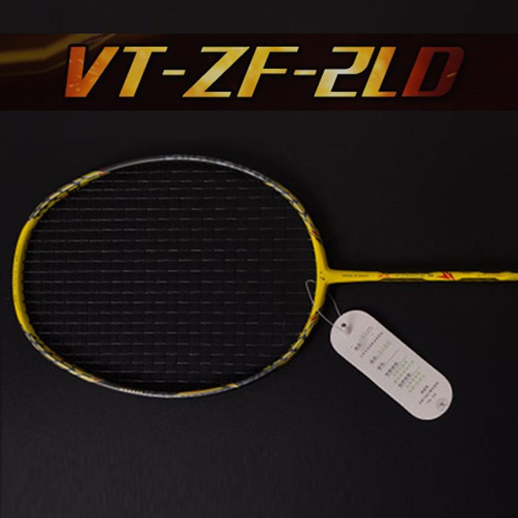 Raquette de badminton voltric z force de raquette de badminton ensemble II 26 lbs