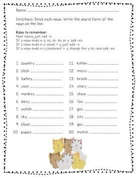 12 best singular plural images on pinterest grade 2 plural nouns worksheet and plurals worksheets. Black Bedroom Furniture Sets. Home Design Ideas