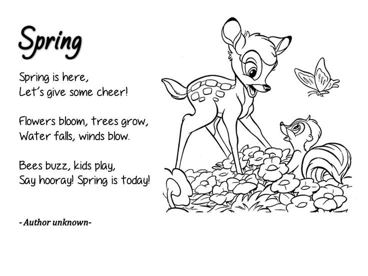 25 best Nature poems for kids ideas on Pinterest Spring poems