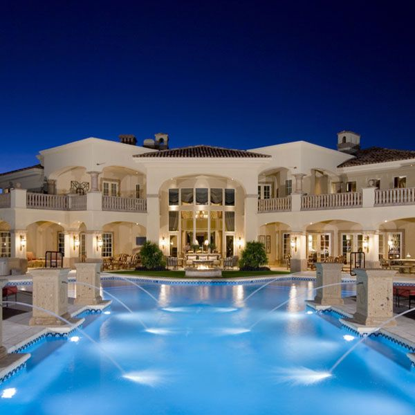 luxury pool home