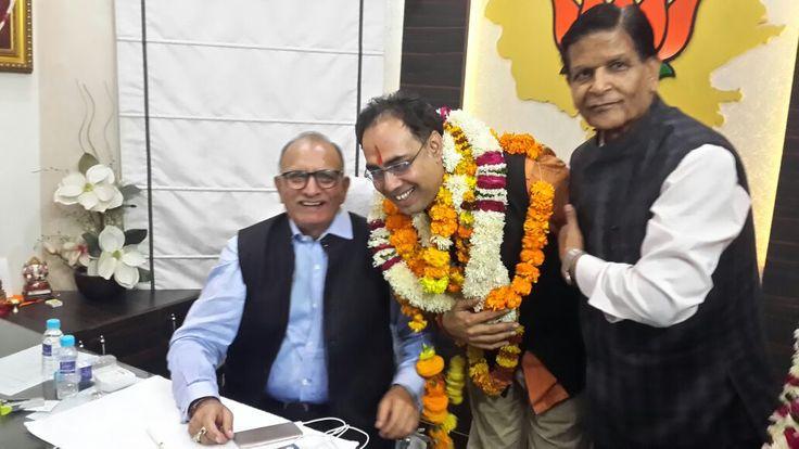 जयपुर नगर निगम के नवनिर्वाचित महापौर श्री अशोक लाहोटी को हार्दिक शुभकामनाएं
