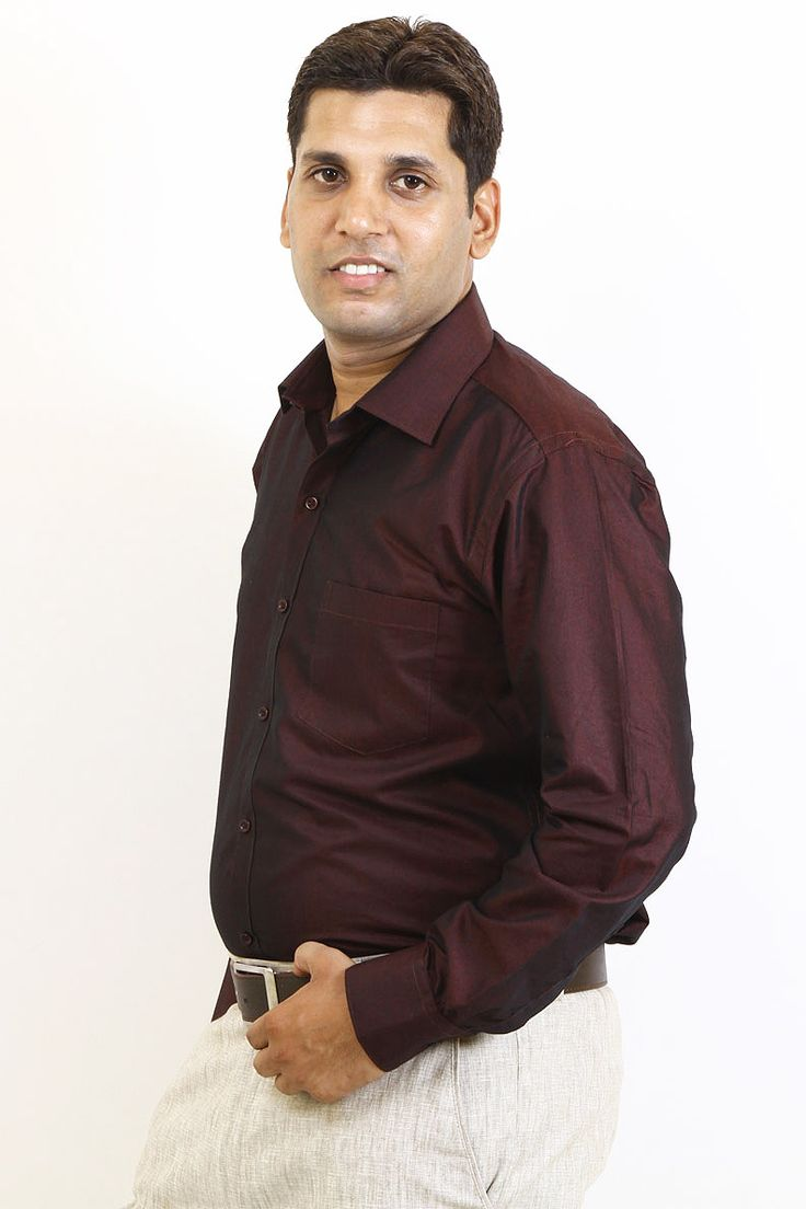 http://tinyurl.com/jf3k479 Buy Online SIERA Maroon Polyester Formal Shirts For Men Lowest Prices only on GetAbhi.com