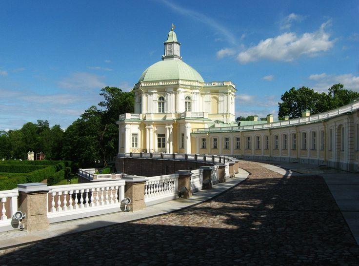 г. Ораниенбаум (ныне Ломоносов). Дворцово-парковый комплекс.