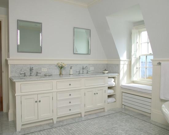 Brilliant Bathroom Vanities Backsplash Ideas  Home Design Ideas