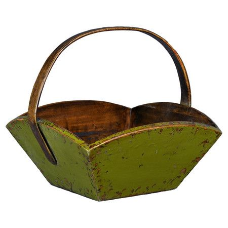 You should see this Wooden Square Fruit Basket in Green on Daily Sales!