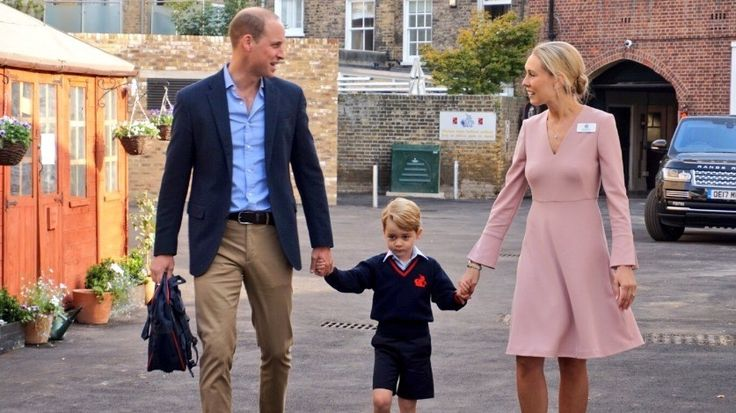 Prince George's first day at school  http://www.itv.com/goodmorningbritain/prince-georges-first-day-at-school?utm_campaign=crowdfire&utm_content=crowdfire&utm_medium=social&utm_source=pinterest
