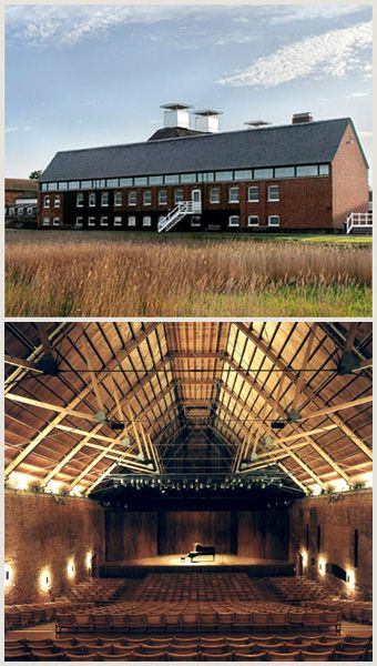 Snape Maltings concert hall