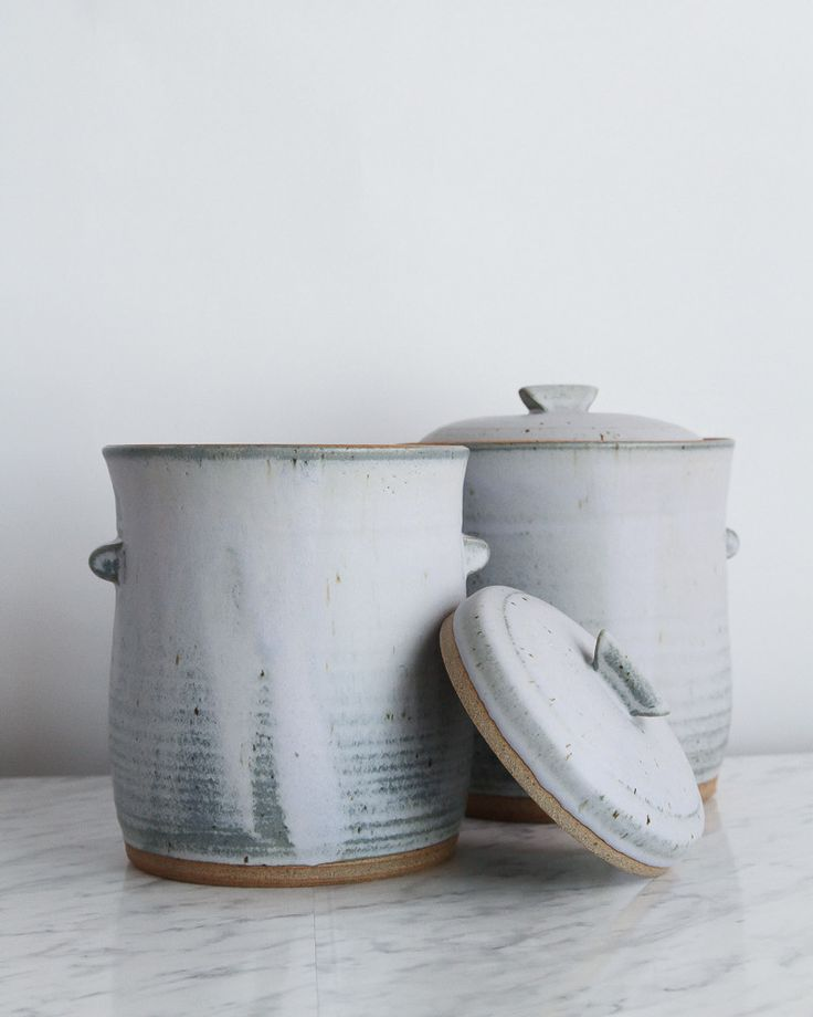 Made of durable stoneware, this fermentation crock is practically foolproof when it comes to ensuring a well aged, mouth puckering vegetable. Constructed with a deep water lock moat around the opening