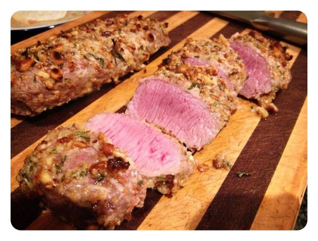 Primal Journey: Pinenut Crusted Lamb Loin Fillets