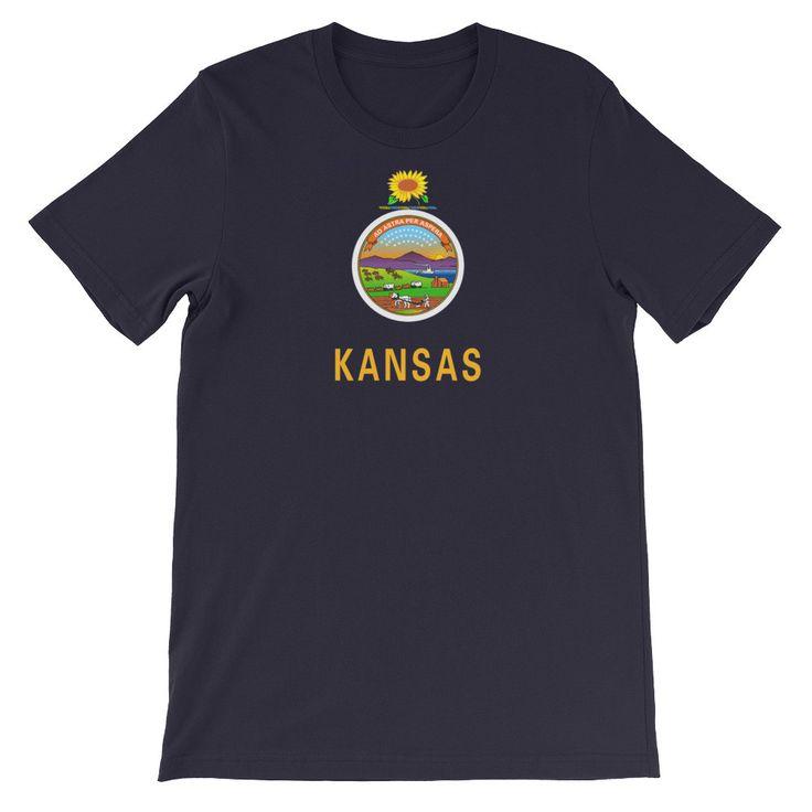 Kansas Flag T-shirt