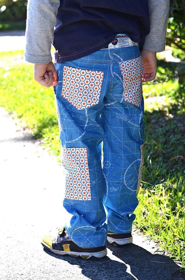 Boys Adventure Cargo Pants PDF Pattern
