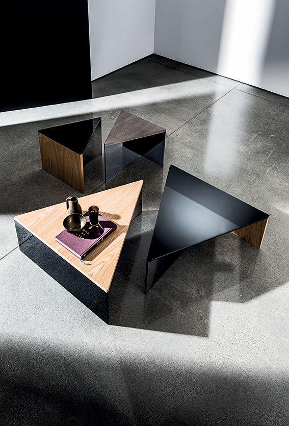 REGOLO TRIANGULAR #design by Lievore Altherr Molina #home #furniture #wood& #glass #inspiration #archilovers #designlovers #homedecor #interiordesign
