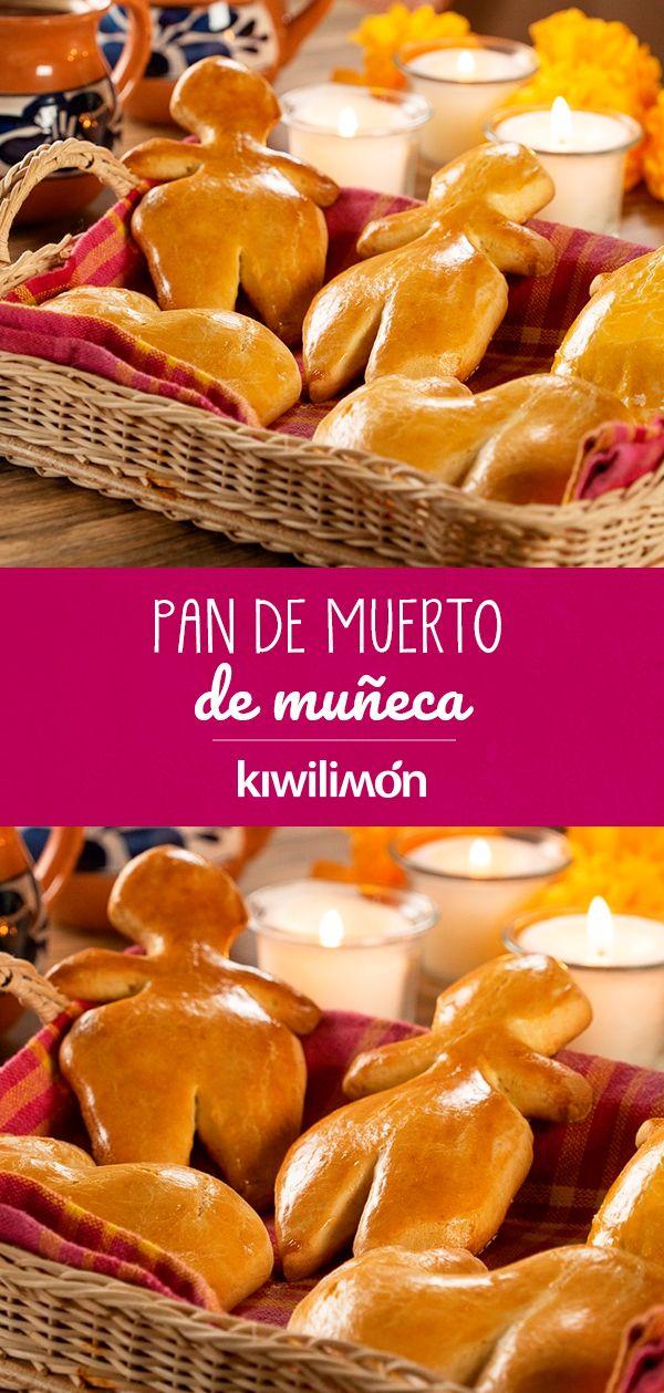 Hacer #pandemuerto es muy fácil y con esta opción incluso podrás incluir a los pequeños en casa para prepararlo. Se trata de una #receta tradicional y sencilla con una forma diferente, para la cual ocuparás #ingredientes que tienes en casa. Su crujiente consistencia te encantará y para que no pierda su forma, te recomendamos aplanar el pan con un rodillo antes de #hornear. Mexican Dishes, Mexican Food Recipes, Cookie Recipes, Broken Doll, Doll Food, Mini Cakes, 5 Minute Crafts, Fall Recipes, Coffee Shop