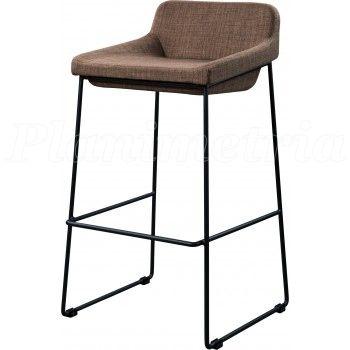 Мягкий барный стул Comfy dusty brown (Комфи пепельно-коричневый) Другие мобели: http://www.stolstul.com.ua/category-22.html