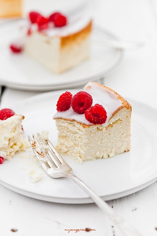 ... fluffy vanilla cheesecake ...