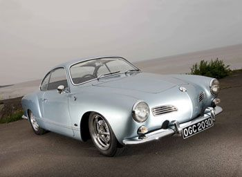 Superb late 60's Karmann Ghia. I had an army green 68 ghia.