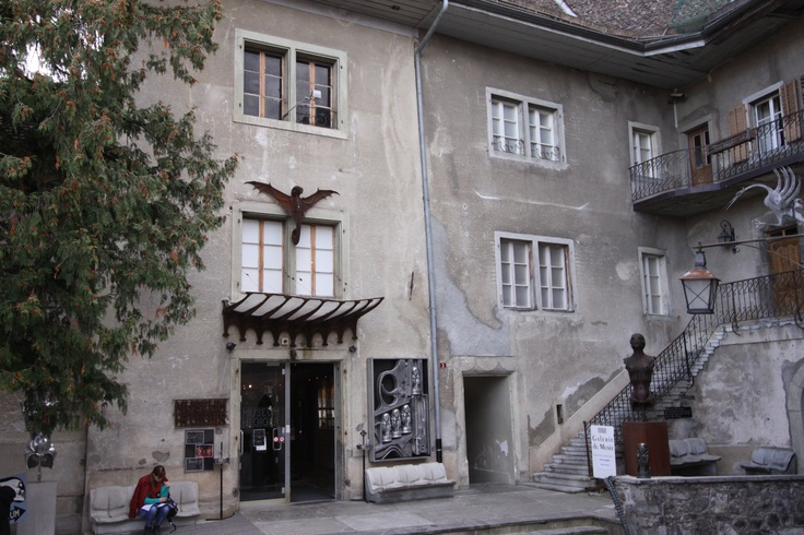 saint germain castle h r giger museum gruyeres switzerland places i 39 ve seen pinterest. Black Bedroom Furniture Sets. Home Design Ideas