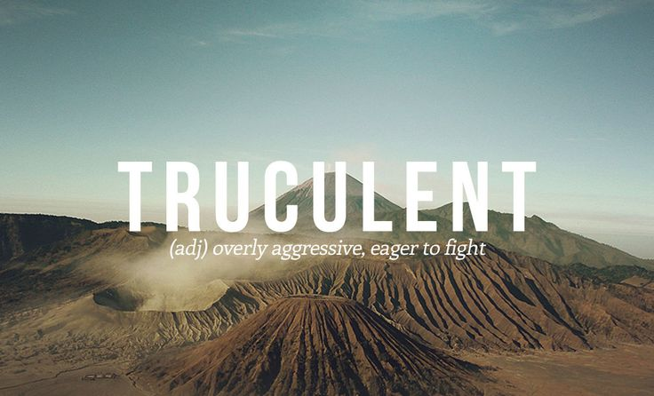 28 Underused Words You Really Need To Start Using. Truculent and Bellicose are in this pin; I find them to be similar.