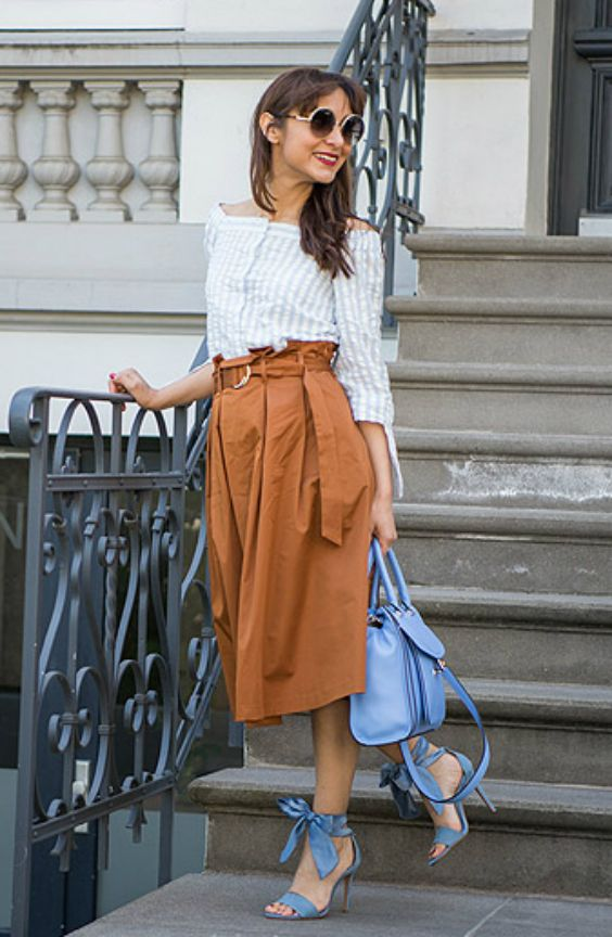 b6bcb1e94def Die Paperbag-Taille richtig stylen: zwei Looks mit Paperbag-Pant und ...