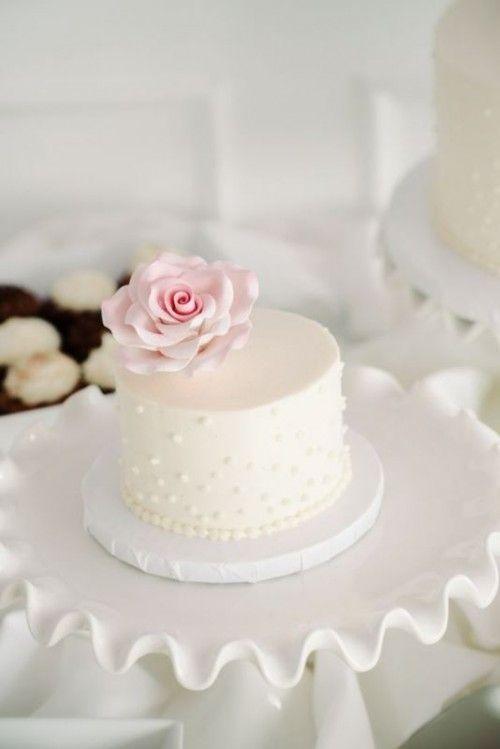 Best 25 Individual Wedding Cakes Ideas On Pinterest
