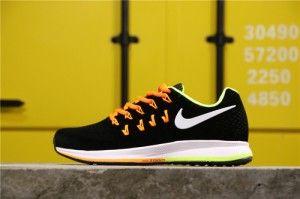 Men's Nike Air Zoom Vomero Black Orange White Running Shoes 834316-038 834316-038